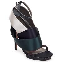 Chaussures Femme Sandales et Nu-pieds Kallisté NU-PIED 5801 ARGENTO