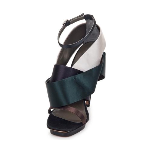 Sandales Femme Et pieds pied Nu Kallisté Chaussures Argento Nu 5801 RA54Lj