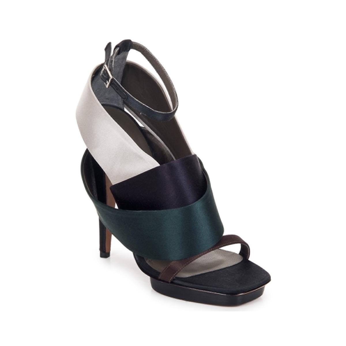 Sandale Kallisté NU-PIED 5801 ARGENTO