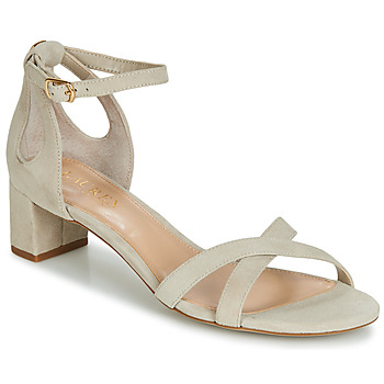 Chaussures Femme Sandales et Nu-pieds Lauren Ralph Lauren FOLLY Beige
