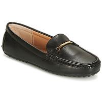 Chaussures Femme Mocassins Lauren Ralph Lauren BRIONY Noir