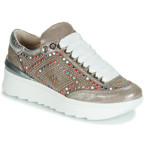 Chaussures Femme Baskets basses Fru.it 5357-008 Beige / Paillettes