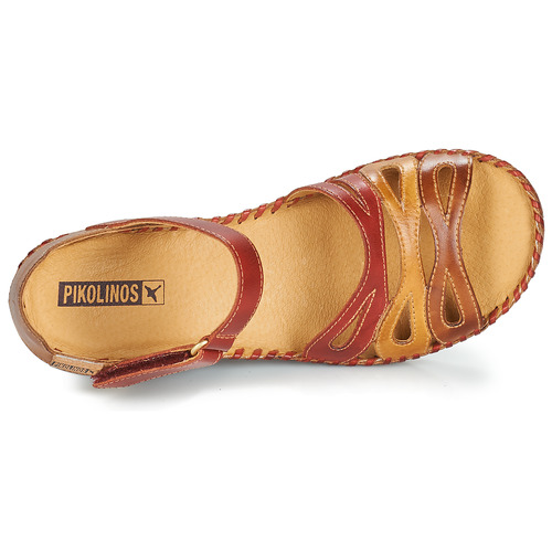 pieds Et Femme 943 Nu Margarita Pikolinos Sandales RougeMarron OwiuTkZlPX