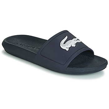 f01ce750b13 Chaussures Homme Claquettes Lacoste CROCO SLIDE 119 1 Marine   Blanc