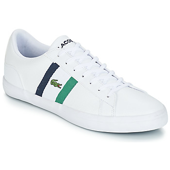Chaussures Homme Baskets basses Lacoste LEROND 119 3 Blanc / Marine