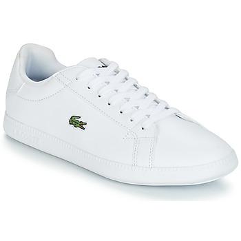 Chaussures Femme Baskets basses Lacoste GRADUATE BL 1 Blanc
