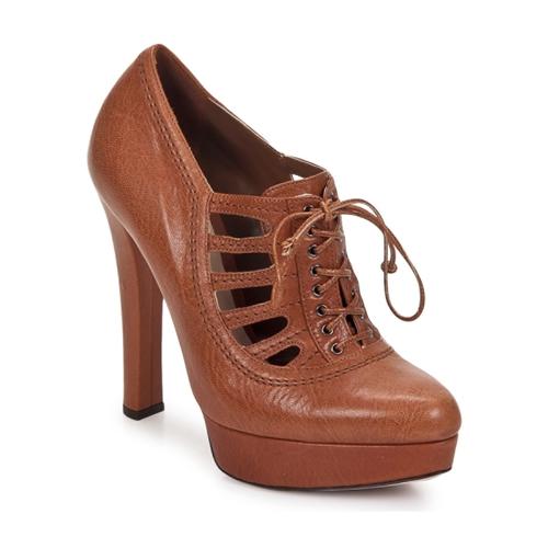 Sebastian AYCU Marron - Livraison Gratuite avec  - Chaussures Low boots Femme