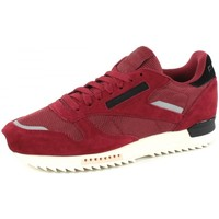 Chaussures Baskets basses Reebok Sport Classic Leather Ripple SN MEN Rouge