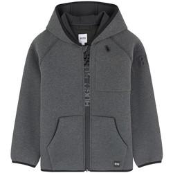 Vêtements Garçon Sweats HUGO Blouson Hugo Boss Junior - J26350-M10 Gris