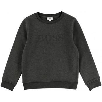 Vêtements Garçon Sweats HUGO Sweat Hugo Boss Junior - J25C92-A80 Gris