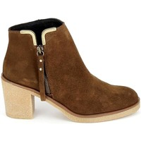 Chaussures Femme Bottines Porronet Boots 4032 Marron Marron