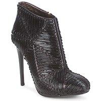 Chaussures Femme Bottines Roberto Cavalli QPS566-PN018 Noir