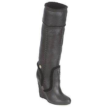 Chaussures Femme Bottes ville Roberto Cavalli QDS598-PJ007 Noir