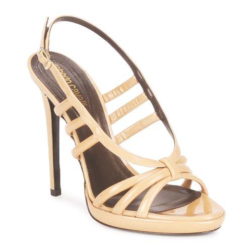 Chaussures Femme Sandales et Nu-pieds Roberto Cavalli QDS626-PL028 Beige