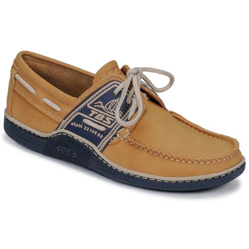 Tbs Chaussures Bateau Homme Globek JauneMarine 5AjL3R4q