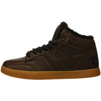 Chaussures Homme Chaussures de Skate Osiris CONVOY MID SHR brown black Marron