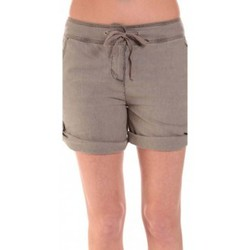 Shorts / Bermudas Sud Express SHORT SATIL TAUPE