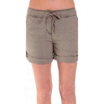 Vêtements Femme Shorts / Bermudas Sud Express SHORT SATIL TAUPE Marron