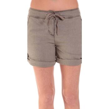 Vêtements Femme Shorts / Bermudas Sud Express SHORT SATIL TAUPE Marron