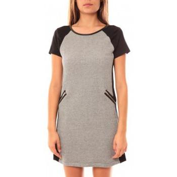 Vêtements Femme Robes courtes Coquelicot Robe CQTW14225 Noir/Gris Noir