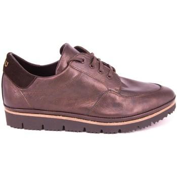 Chaussures Plaju PIEL METALIZADA MARRON