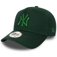 Accessoires textile Casquettes New Era Casquette trucker New York Yankees LEAGUE ESSENTIAL AFRAME Vert