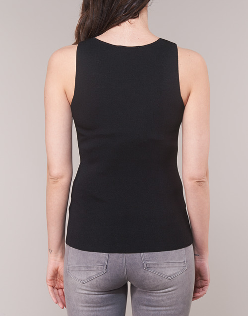 Manche DébardeursT Sans Mpax shirts Noir Morgan Femme EWD92HI