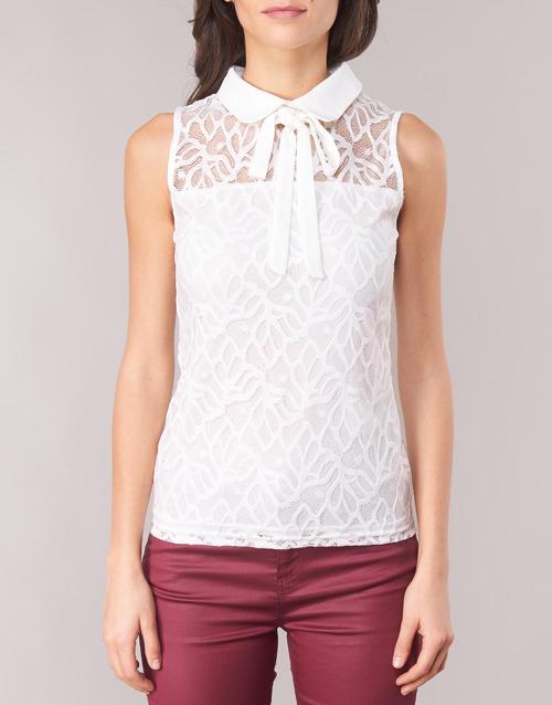 DINCO  Morgan  tops / blouses  femme  blanc
