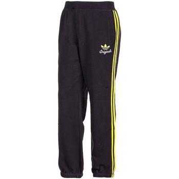 Vêtements Homme Pantalons de survêtement adidas Originals Pantalon de survêtement  Spo Fleece - Ref. F48096 Noir