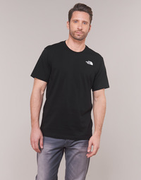 Vêtements Homme T-shirts manches courtes The North Face MEN'S S/S REDBOX TEE Noir