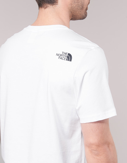 MEN'S S/S EASY TEE  The North Face  t-shirts manches courtes  homme  blanc