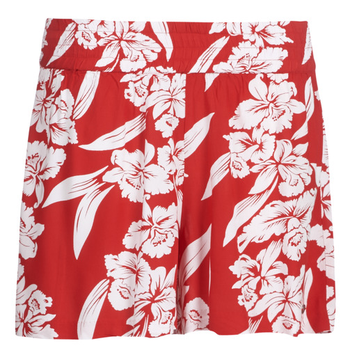Volcom Ha Short ShortsBermudas Femme Rouge Aloha 5qR34AjL