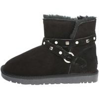Chaussures Femme Bottes de neige Pregunta PL3358PL 001 Bottines Femme Noir Noir