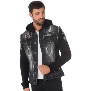 Vêtements Homme Vestes en jean Von Dutch DUTCH NRP Noir