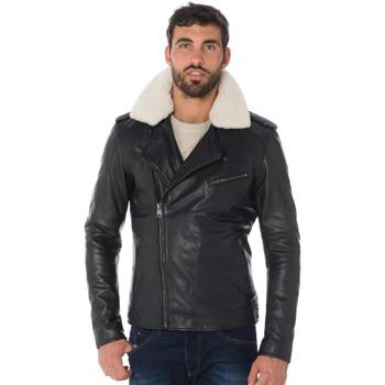 Vêtements Homme Vestes en cuir / synthétiques Cityzen VOLPE BLACK Noir