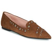 Chaussures Femme Mocassins Pretty Ballerinas ANGELIS Marron