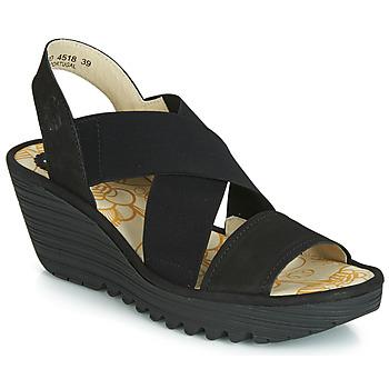 Chaussures Femme Sandales et Nu-pieds Fly London YAJI Noir