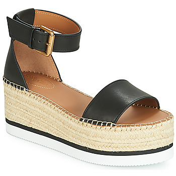 Chaussures Femme Espadrilles See by Chloé GLYN SB32201 Noir