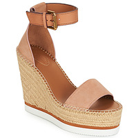 Chaussures Femme Espadrilles See by Chloé SB26152 Rose Nude