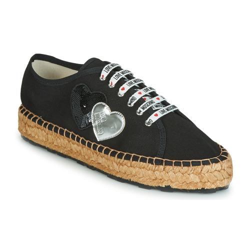 Chaussures Femme Espadrilles Love Moschino JA10263G07 Noir