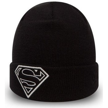 Accessoires textile Enfant Bonnets New Era Bonnet Bébé DC Comics Superman Glow In the Dark Knit Toddler Noir