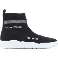 Chaussures Femme Baskets montantes Chiara Ferragni CF1948 BLACK nero