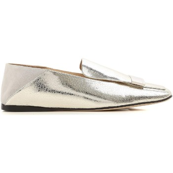 Chaussures Femme Mocassins Sergio Rossi A77990 MFN305 8198 argento