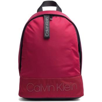 Sacs Sacs à dos Calvin Klein Jeans Sac à dos  ref_44570 628 Rouge Noir