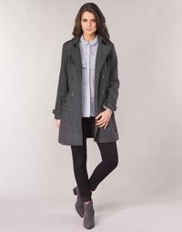 Vêtements Femme Manteaux Casual Attitude HAIELLI Gris