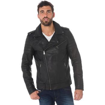 Vêtements Homme Vestes en cuir / synthétiques Cityzen LANGFORD BLACK Noir