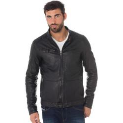 Vêtements Homme Vestes en cuir / synthétiques Cityzen NELSON BLACK Noir