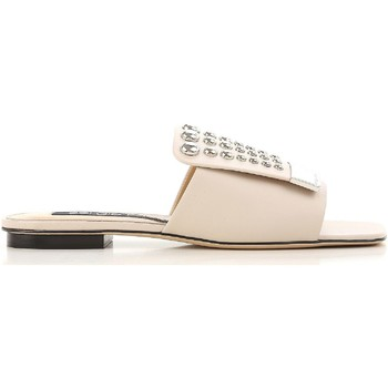 Chaussures Femme Claquettes Sergio Rossi A80380 MFN205 9179 Nudo