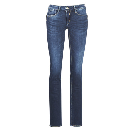 PULP REGULAR  Le Temps des Cerises  jeans droit  femme  bleu