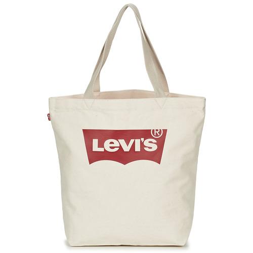 Sacs Femme Cabas / Sacs shopping Levi's Batwing Tote W Ecru
